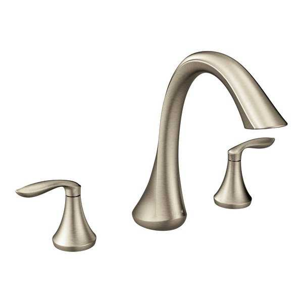 Moen T943 Deck Mounted Roman Tub Faucet from the Eva Collection (Less Valve) - N/A