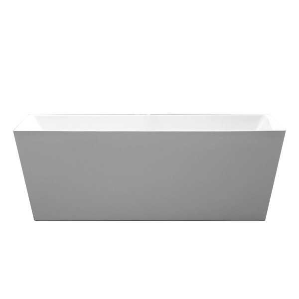 Palms 6813 Modern Freestanding Acrylic Bathtub