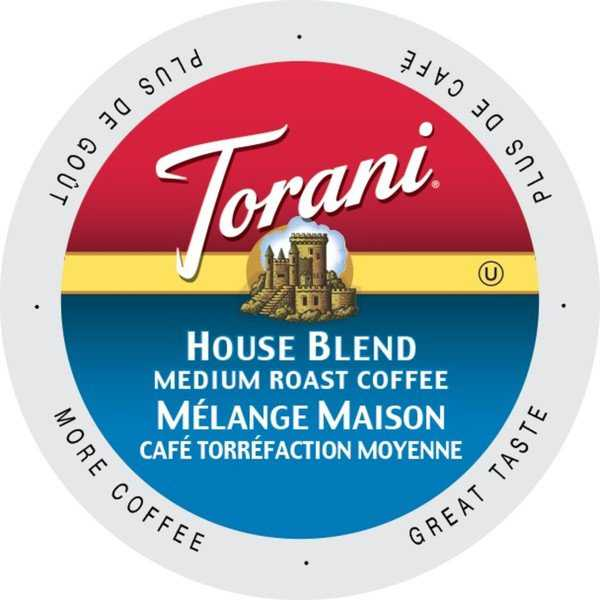 Torani Extra Bold House Blend, Dark and Rich Single Serve Coffee Cups for Keurig K-Cup Brewers 24 Count