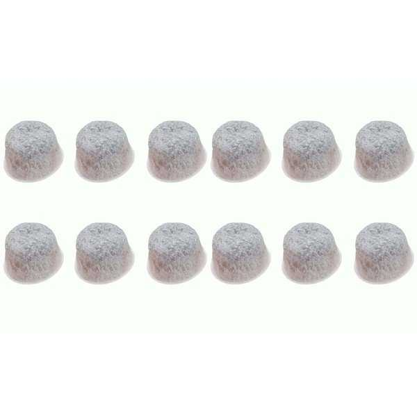 12pk Replacement Charcoal Water Filters, Fits Capresso TEAM MT500, 437, 439, 440, 441 & 454, Compatible with Part 454