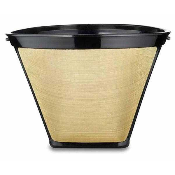 Medelco Cafe Brew Collection Number 4 Cone Permanent Coffee Filter