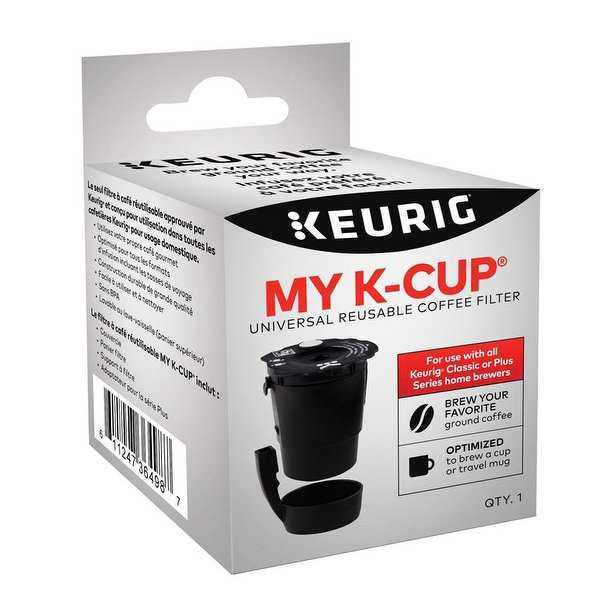 Keurig 121608 K-Cup Reusable Coffee Filter, .599 Oz
