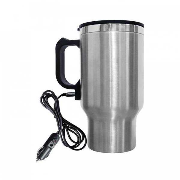 16 oz. Car Mug With 12 Volt Plug
